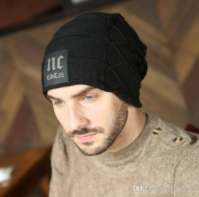 knitted hats for men