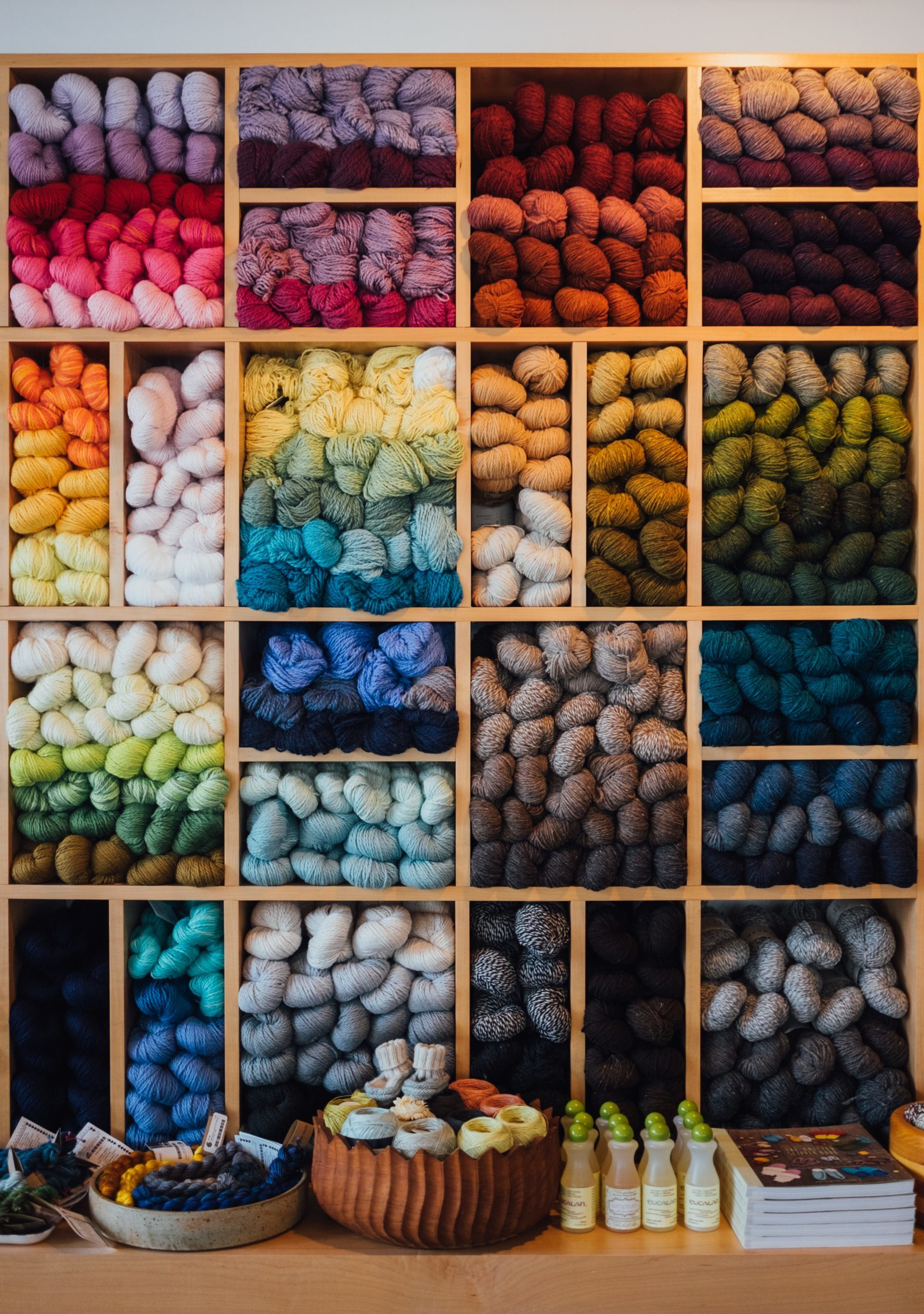 Different Yarn Colors